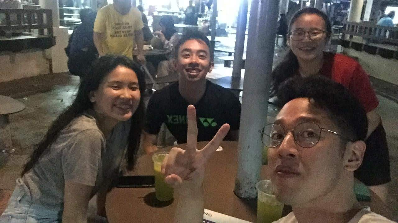 Justin Ma and friends
